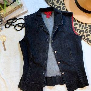 5 for $50 - BCBG Jean Vest